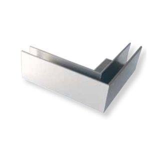 Angle pour profilé bas pose à plat